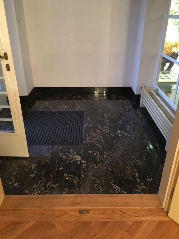 Krystalizace mramorové podlahy - ukázka