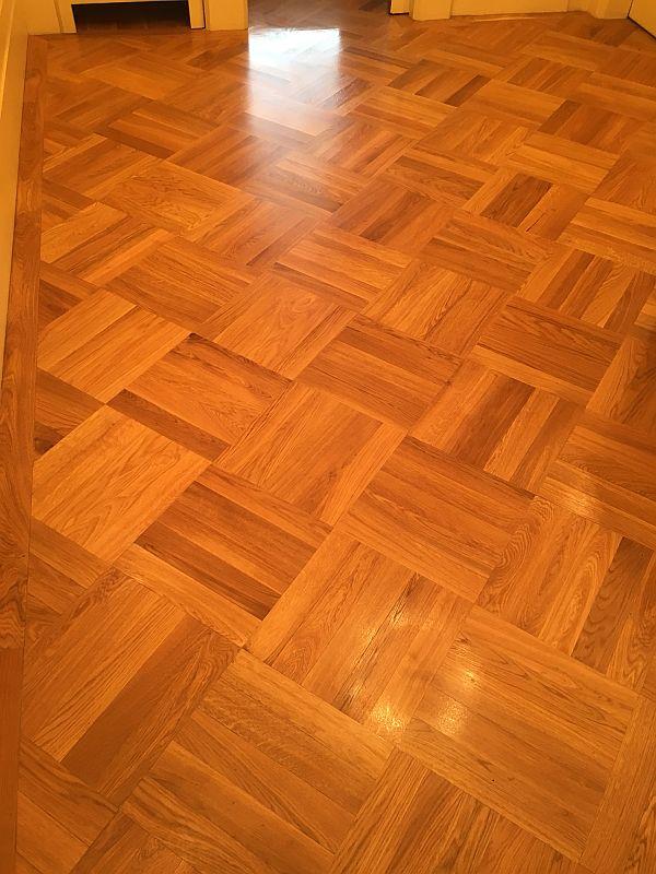 Leštění podlahy - ukázka 2