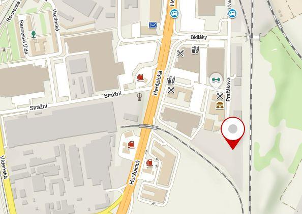 ikony aloga / Mapa