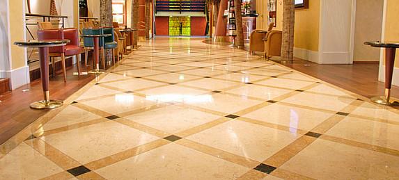 Obrázky / Mramorové podlahy - broušení 1